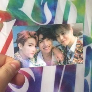 BTS lenticular answer photocard